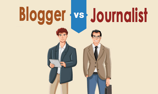 blogger vs journalism