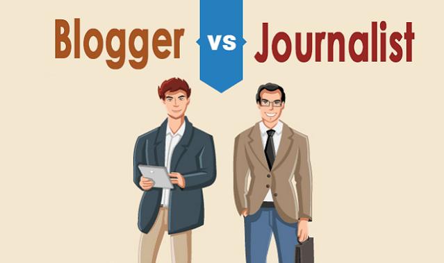 blogger vs journalism